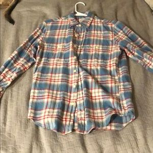 J Crew Men's flannel Slim Fit